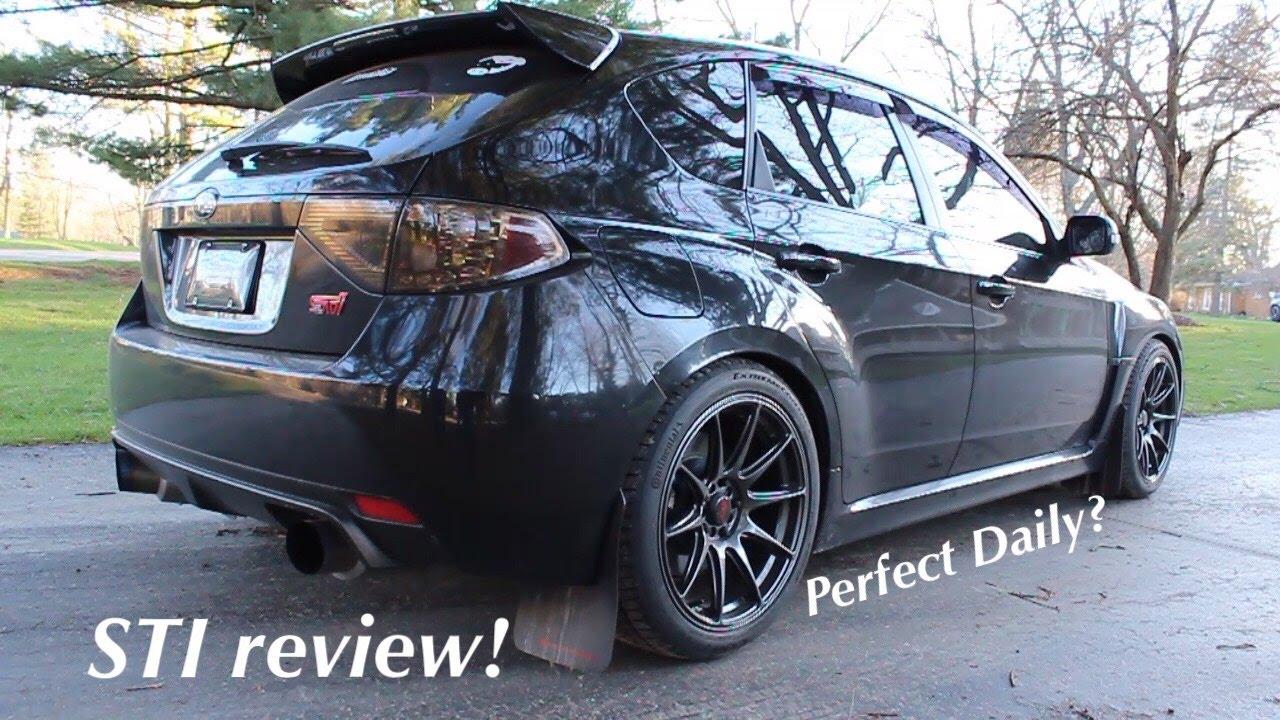 2009 Subaru Wrx Sti Review The Perfect Daily Driver
