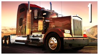 American Truck Simulator - Ep.01 : First Impressions & Giveaway!