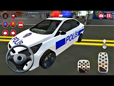 Polis Arabası Araba Oyunu | Real Police Car Driving Simulator 3D - #3 - Android Gameplay FHD