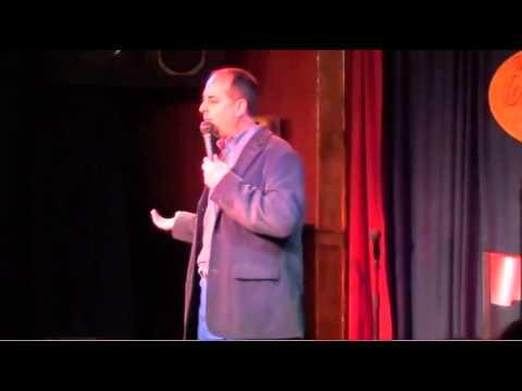 John Glozek at Stand Up University Graduation_Brokerage Comedy Club