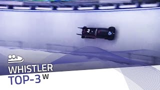 Whistler | Women's Bobsleigh Top-3 | IBSF Official