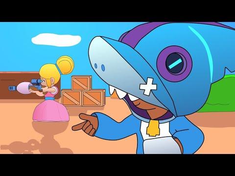 Brawl Stars Animation: Leon Shark (Parody)