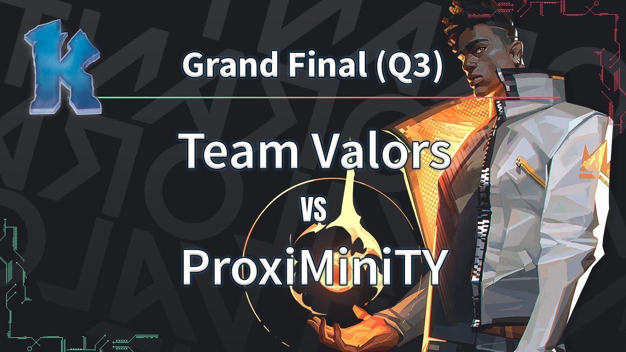 ► Valorant Esports - Clutch Battles Grand Final - Team Valors vs. ProxiMiniTY