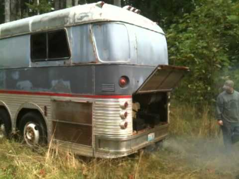 Rv 1958 silver eagle bus conversion motorhome detroit Silver eagle motor coach