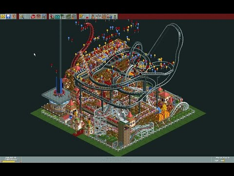 Roller Coaster Tycoon: Micro Park Timelapse