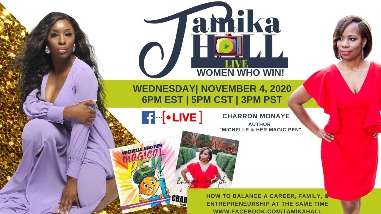 Women Who Win: Live with Charron Monaye