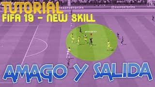 FIFA 19- NEW SKILLS / AMAGO DE TIRO Y SALIDA - Open Up Fake Shot