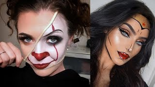 Amazing And Easy Halloween Makeup Tutorials Compilation 2018 - MUST SEE | part-1