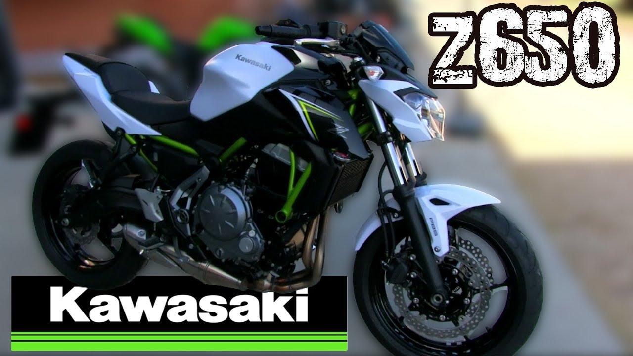 Kawasaki Z650 Test Ride