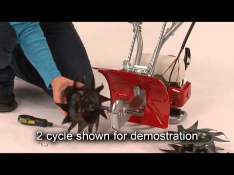 Mantis® Deluxe 4-Cycle Tiller - Maintenance Tips