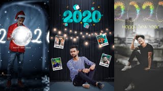 2020 Happy New Year Old Memory Photo Editing Tutorial New Concept Photo Editing 2020