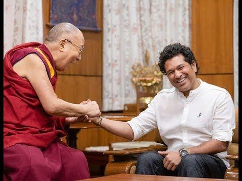 Dharamshala: Sachin Tendulkar meets Dalai Lama