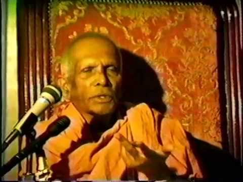 Swami Ranganathananda in Berkeley - 1980s