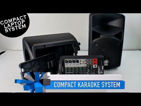 Karaoke Laptop System | Portable Karaoke System | Yamaha Speakers | Karaoke Microphone