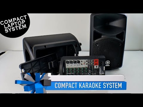 Laptop Karaoke System | Portable Karaoke System | Yamaha Speakers | Karaoke Microphone |800-557-7464