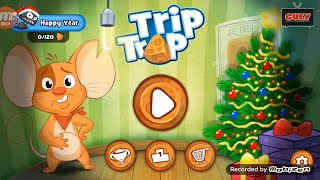 Chú chuột đói bụng tìm cách tránh bẫy ăn phô mát trip and trap cu lỳ chơi game lồng tiếng vui nhộn
