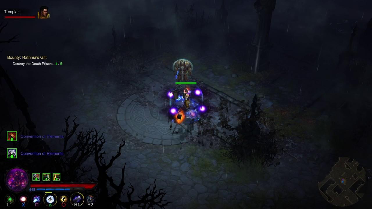 Diablo III: Rathmas gift bug - YouTube