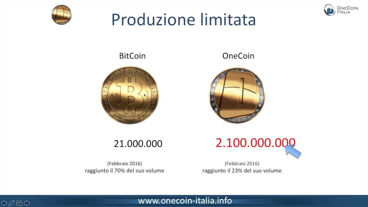 OneCoin Presentazione OneLife Italia