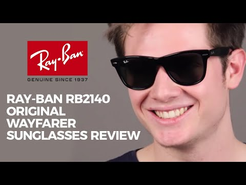 f463c627ff Ray Ban RB2140 Original Wayfarer Sunglasses Review - YouTube