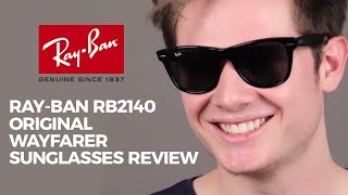 Ray Ban RB2140 Original Wayfarer Sunglasses Review(Want to virtually try on your favourite pair? Then take advantage of our Virtual 3D Try-On system and grab your favourite pair now at: ..., 2014-11-07T10:57:08.000Z)