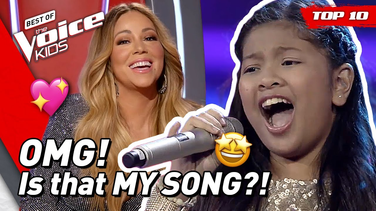 Download TOP 10   Stunning MARIAH CAREY songs covered in The Voice Kids! 😍