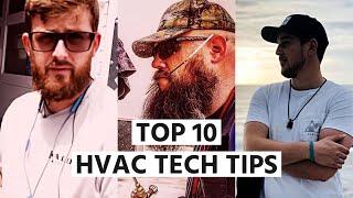 Top 10 HVAC Tech Tips for 100K
