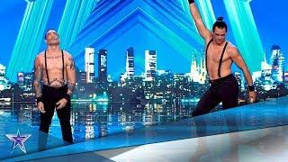 ¿ACROBACIAS y HUMOR en el mismo número? Reto CONSEGUIDO | Audiciones 8 | Got Talent España 5 (2019)