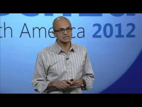 TechEd North America 2012 Keynote   Satya Nadella