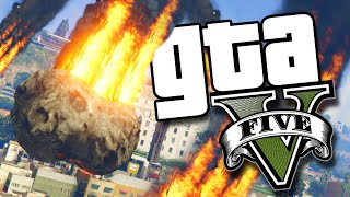 GTA V PC - O Fim do Mundo (MOD UFO + Meteoros)