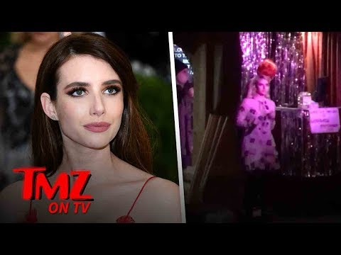 Emma Roberts And Her Boyfriend Give Karaoke A Try | TMZ TV