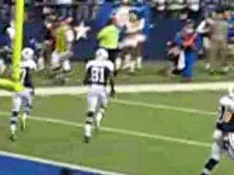 Get Your Popcorn Ready - Terrell Owens Catches TD Vs. Packers