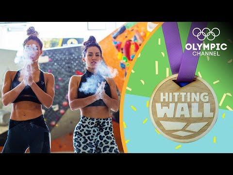 Karina Ella & Carmen Morgan are stunned by a Sport Climbing champion's Training   Hitting the Wall