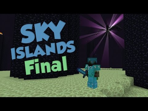 MINECRAFT SKY ISLANDS | EP.7 FIN | VIAJE AL END