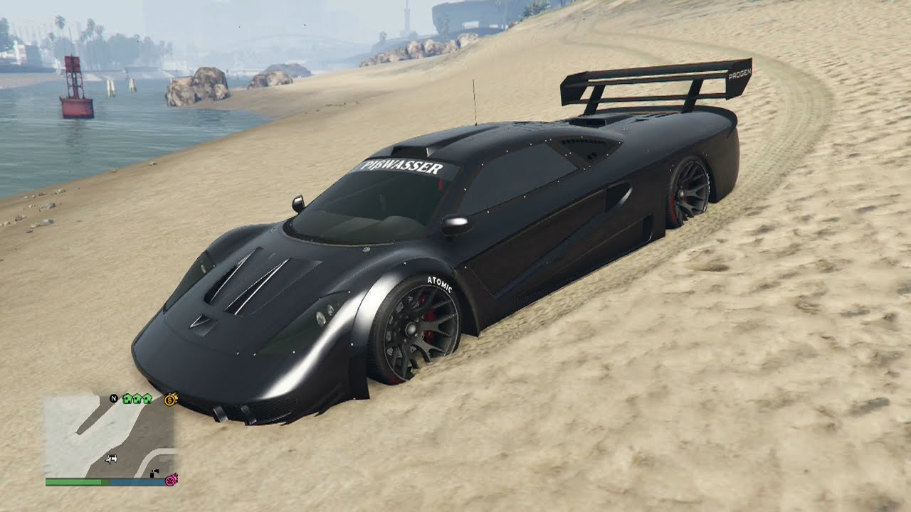 Gta Online New Cunning Stunts Dlc Supercar Progen Tyrus Fully