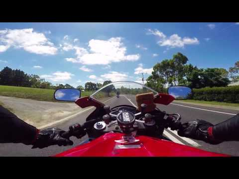 Adelaide Hills on CBR600RR
