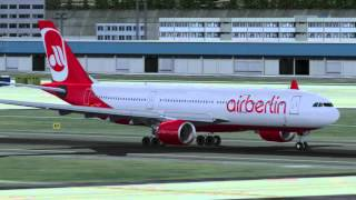FS2004 - Air Berlin (Germany) - EDDF to EGLL - Full Flight