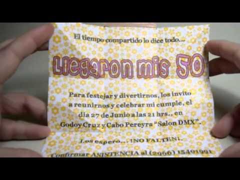 Frases Para Tarjetas De Invitacion De 50 Anos Hombres Cita