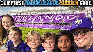 Our First Major League Soccer (MLS) Game // Toronto Football Club VS. Orlando City Soccer Club
