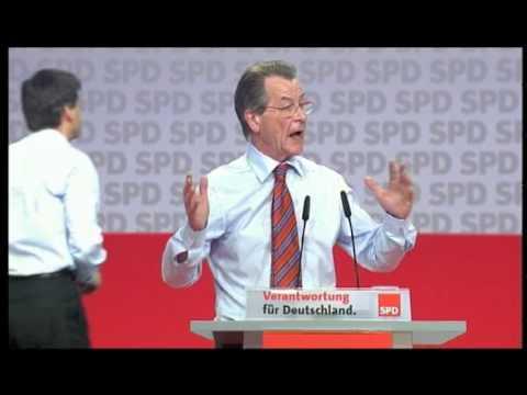 Rede von Franz Müntefering auf dem a.o. Bundesparteitag