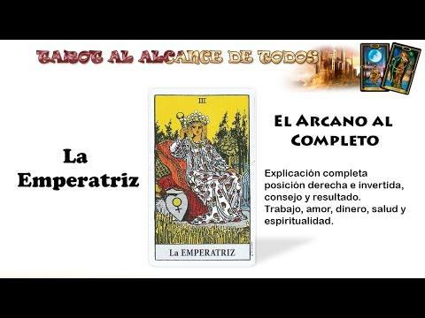 CURSO DE TAROT:  La Emperatriz En El Tarot - Arcano III