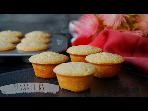 Financiers ( French Almond Tea cake)