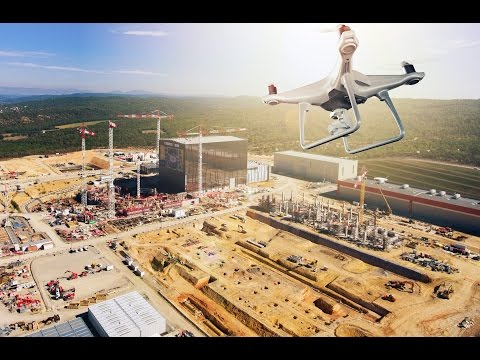 The ITER site from above - Drone, October 2016