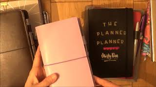 Streamlining my planner lineup!