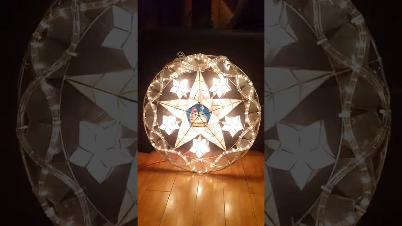 Filipino Parol For Sale In America - Stariray parol 3d design tiffany with holy family 24 in diameter available in usa and canada
