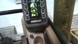 Cat B Series Excavator Monitor G/A and PRV Backup switches system