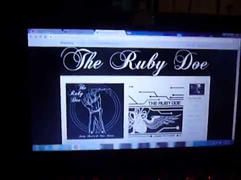 THE RUBY DOE - Always with wings - A favorite local band