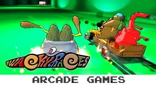 Wacky Races (Quick Gameplay 60FPS) Arcade - Taito Type X²