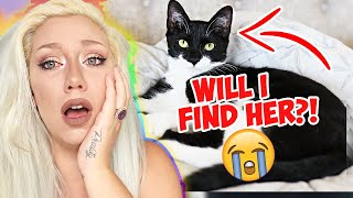 My Cat Is MISSING And I MOVE Tomorrow!!! ( WHAT DO I DO? ) Moving All My Animals Part 3