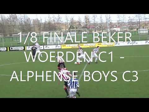 8e finale bekertoernooi Woerden C1   Alphense Boys C3