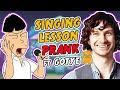 Asian Singing Lesson Prank ft. Gotye Ownage Pranks